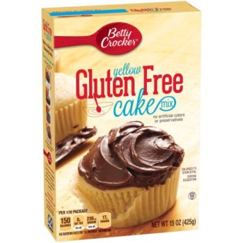 Gluten free yellow cake mix by Betty Crocker