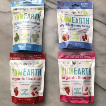Gluten-free dairy-free candy from YumEarth