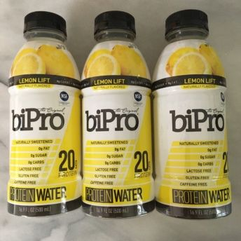 Gluten-free lemon protein water from BiPro