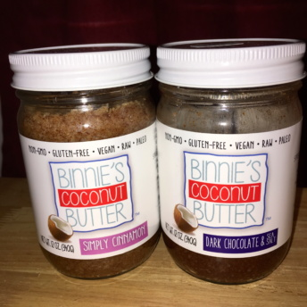 Gluten-free coconut butters by Binnie's Coconut Butter