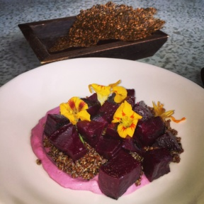 Gluten-free beets and quinoa from Blenheim
