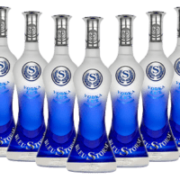 Gluten free vodka by Bleustorm Vodka
