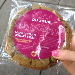 Gluten-free peanut butter cookie from Blossom Du Jour