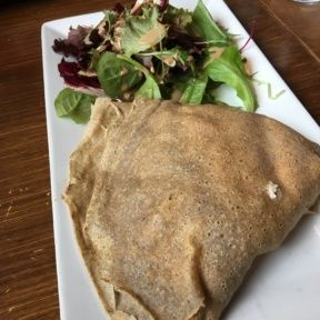 Gluten-free crepe from Blue Daisy
