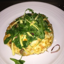 Gluten-free egg dish from Blue Fin