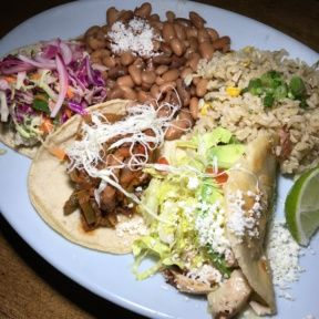 3 Gluten-free tacos from Blue Plate Taco