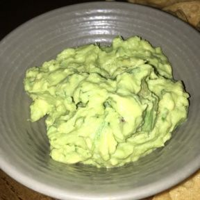 Gluten-free guacamole from Blue Plate Taco