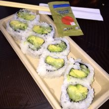 Gluten-free sushi roll from Blue Ribbon Sushi