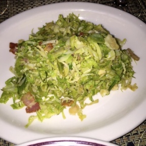 Gluten-free brussels sprouts from Bocca