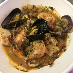 Gluten-free seafood broth from Bombo