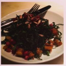 Gluten-free kale salad from Boqueria