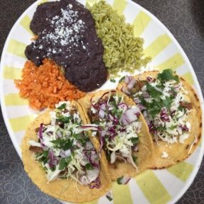 Gluten-free tacos from Border Grill