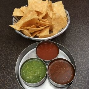 Gluten-free chips and salsa from Border Grill