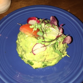 Gluten-free guacamole from Boxcar Cantina