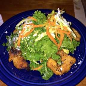 Gluten-free kale salad from Boxcar Cantina