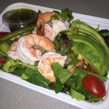 Gluten-free shrimp salad from Bread