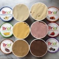 6 flavors of gluten-free ice cream from Brio Ice Cream