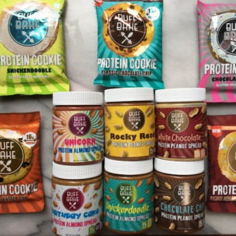 Gluten-free cookies and nut spreads by Buff Bake