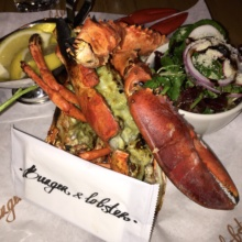 Gluten-free lobster from Burger and Lobster