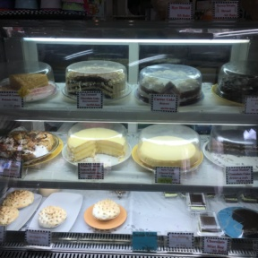 Gluten-free cake display from Butter is Better Bakery