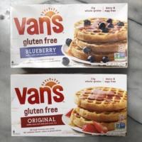 Gluten-free waffles by Van's Natural Foods