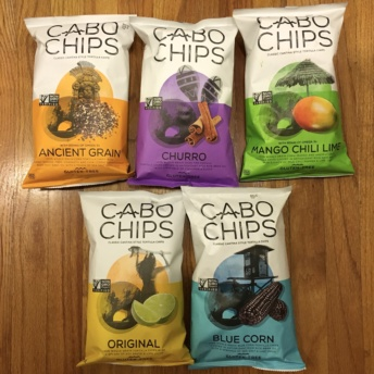 Gluten-free chips from Cabo Chips