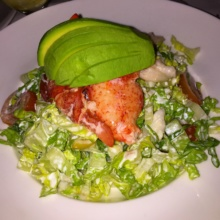 Gluten-free lobster salad from Cafe Carlyle