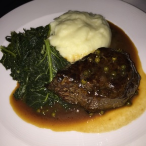 Gluten-free meat from Cafe Carlyle