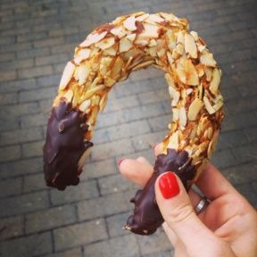 Gluten-free almond ring from Carmel Bakery and Coffee Company