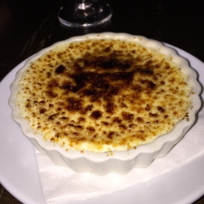 Gluten-free cheese brulee from Casellula
