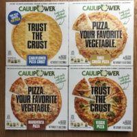 Gluten-free cauliflower pizza from Caulipower