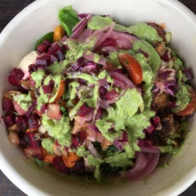 Gluten-free bowl from Cava Grill