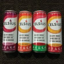 Gluten-free energy drink from Celsius