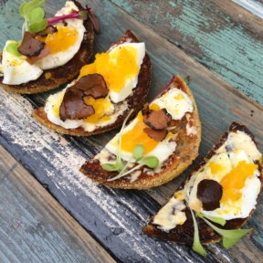 Gluten-free egg toasts from Chalk Point Kitchen