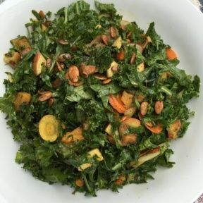 Gluten-free vegan salad from Chalk Point Kitchen