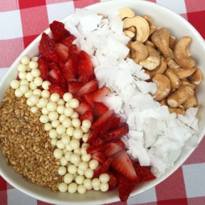 Gluten-free acai bowl from Chalk Point Kitchen