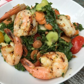 Gluten-free shrimp salad from Chalk Point Kitchen