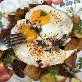Gluten-free hash from Chalk Point Kitchen