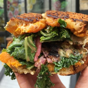 Gluten-free sandwich from Chalk Point Kitchen