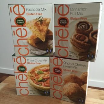 Gluten free bread & pizza mixes from Chebe Bread