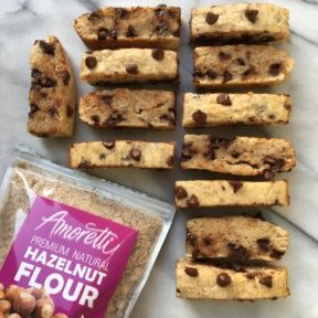 Gluten-free Chocolate Chip Hazelnut Bread