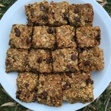 Gluten-free Chocolate Chip Oatmeal Bars