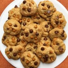 Gluten-free Chocolate Chip Peanut Butter Chip Cookies