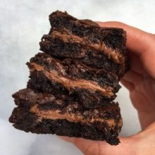 Delicious Gluten-free Chocolate Stuffed Brownies