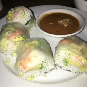 Gluten-free spring roll from Chop Shop