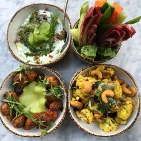 Gluten-free dips and apps from Cleo