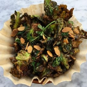 Gluten-free brussels sprouts from Cleo