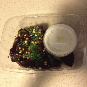Gluten-free beet salad from Co