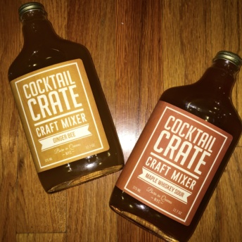 Gluten-free craft mixers from Cocktail Crate