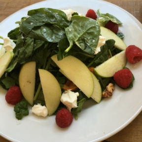Gluten-free apple salad from Coco & Cru